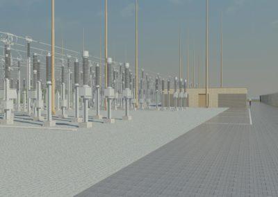 TenneT 150Kv Station Middelharnis