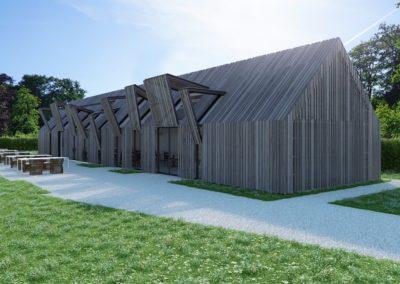 Nieuwbouw Paviljoen Duivenvoorde
